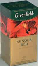 Метро, Чай GREENFIELD Ginger Red
