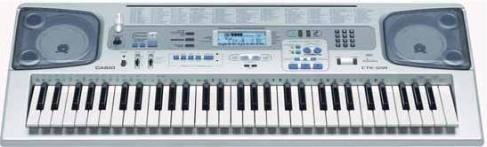 Метро, Синтезатор CASIO CTK-591C7