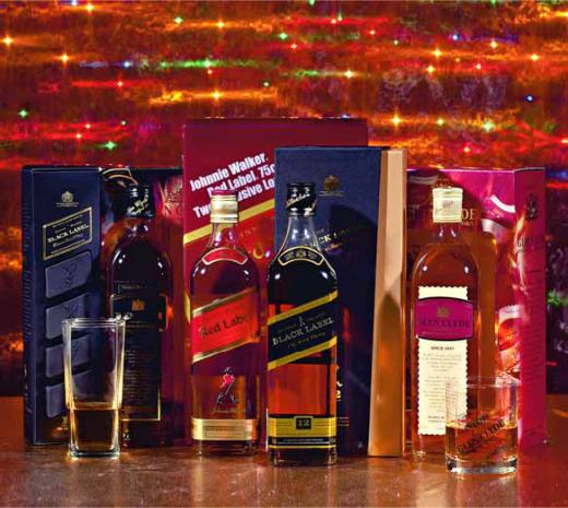 Метро, Виски JOHNNIE WALKER Black Label Slide Pack